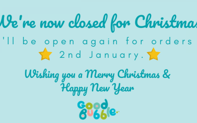Were now closed for Christmas