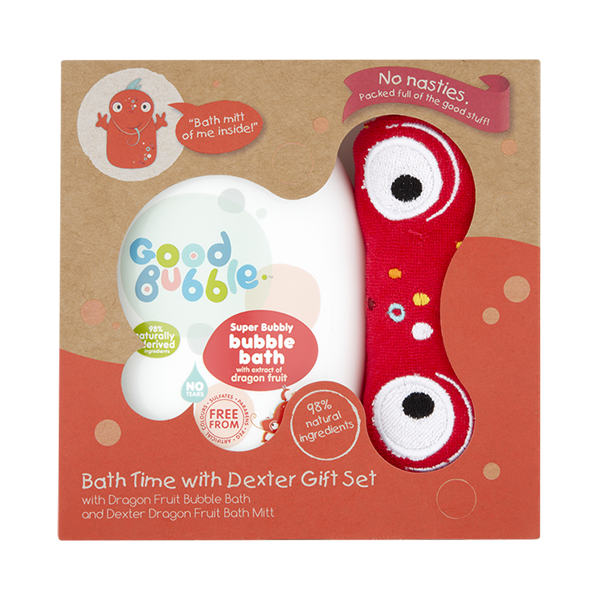 Bath Time With Dexter Gift Set