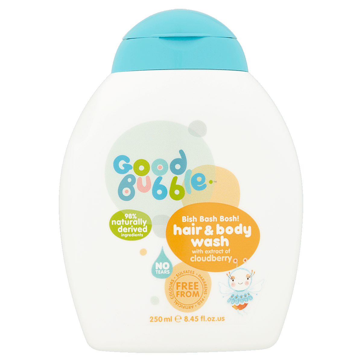 Bish Bash Bosh Hair Body Wash With Cloudberry Extract