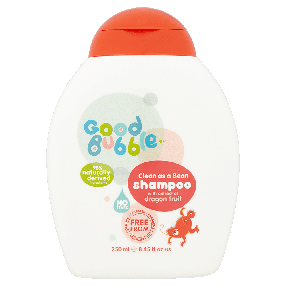 Clean As A Bean Shampoo With Dragon Fruit Extract
