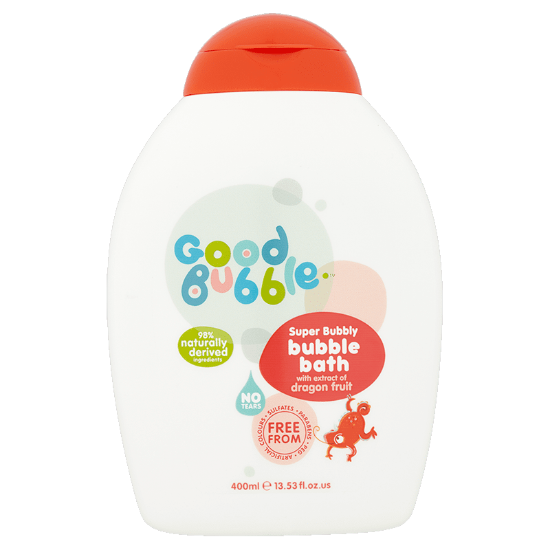Super Bubbly Bubble Bath With Dragon Fruit Extract